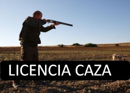 solicitud licencia de caza extremadura